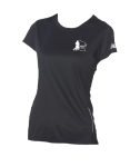 Silk screened - Ladies' Tempo Performance T-Shirt with Left Chest design